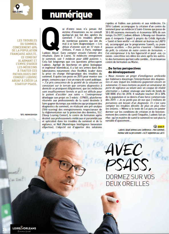 Interview de Ludovic Abuaf CEO PSASS
